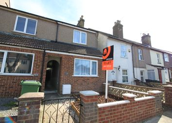 Thumbnail 2 bedroom semi-detached house to rent in Invicta Road, Dartford