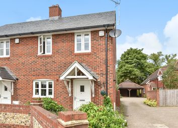 Thumbnail 2 bed semi-detached house to rent in Sussex Close, Hursley, Winchester