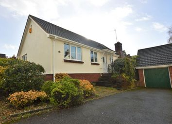 Thumbnail Detached bungalow for sale in Markers Park, Payhembury, Honiton, Devon