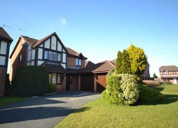 Thumbnail 4 bed detached house for sale in Tunbridge Close, Great Sankey, Warrington