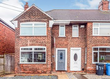 Thumbnail 3 bed end terrace house for sale in Welwyn Park Road, Hull
