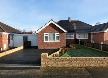 Thumbnail 3 bed semi-detached bungalow for sale in Corbett Road, Hollywood, Birmingham
