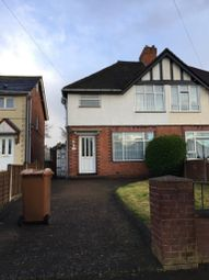 Thumbnail 3 bed semi-detached house to rent in Botany Road, Walsall