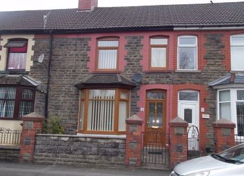 Thumbnail 4 bed terraced house to rent in Woodland Terrace, Maesycoed, Pontypridd