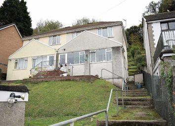 Thumbnail 3 bedroom semi-detached house for sale in Glen Road, West Cross, Swansea