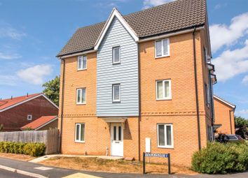 Thumbnail 3 bed semi-detached house for sale in Viola Close, Cringleford, Norwich