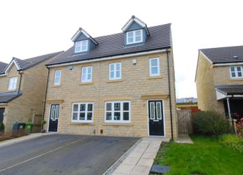 Thumbnail 3 bed semi-detached house for sale in Warton Avenue, Lindley, Huddersfield
