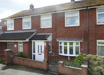 Thumbnail 3 bed terraced house for sale in Tan Y Dre, Wrexham
