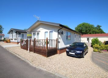 Thumbnail 2 bedroom mobile/park home for sale in Blueleighs Park Homes, Great Blakenham, Ipswich