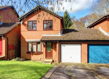 Thumbnail 3 bed link-detached house for sale in Seward Rise, Halterworth, Romsey, Hampshire
