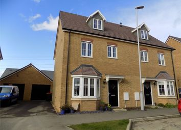 Thumbnail 4 bed semi-detached house for sale in Theedway, Leighton Buzzard, Bedfordshire