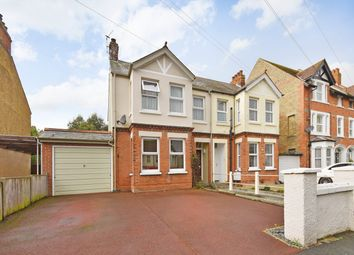 Thumbnail 3 bed semi-detached house for sale in Wear Bay Crescent, Folkestone