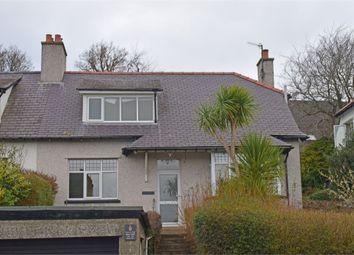 Thumbnail 2 bed semi-detached house for sale in Ffriddoedd Road, Bangor, Gwynedd