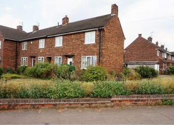 Thumbnail 2 bed end terrace house for sale in Oxford Road, Goole