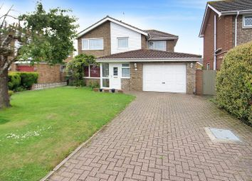 Thumbnail 4 bed detached house for sale in Kipling Close, Caister-On-Sea, Great Yarmouth