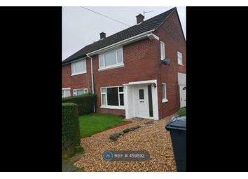 Thumbnail 2 bed semi-detached house to rent in Bexton Avenue, Winsford