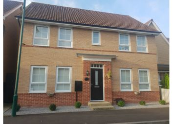 Thumbnail 4 bed detached house for sale in Greenwood Road, Peterborough