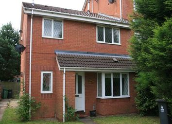Thumbnail 2 bed end terrace house to rent in Signal Grove, Bloxwich, Walsall