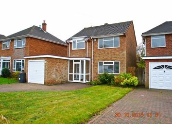 Thumbnail 3 bed detached house to rent in Moor Meadow Road, Sutton Coldfield