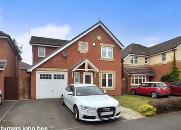 Thumbnail 4 bed detached house for sale in Rubin Drive, Crewe