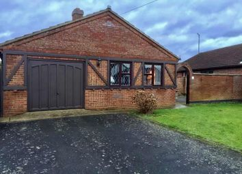 Thumbnail 3 bed detached bungalow to rent in Ivesdyke Close, Leverington, Wisbech