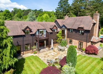 Thumbnail 4 bed detached house for sale in Hambledon Park, Hambledon, Godalming, Surrey