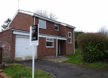 Thumbnail 3 bed detached house to rent in Westerkirk Drive, Madeley, Telford