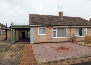 Thumbnail 2 bed semi-detached bungalow for sale in Astwick Road, Lincoln