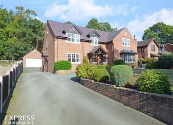 Thumbnail 4 bed detached house for sale in Knockin Heath, Knockin Heath, Oswestry, Shropshire