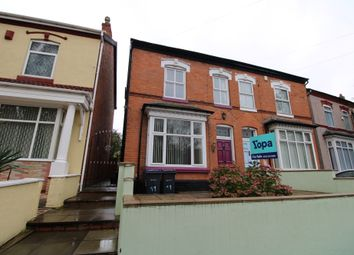 Thumbnail 4 bed semi-detached house for sale in Frederick Road, Stechford, Birmingham