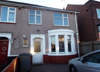 Thumbnail 3 bed end terrace house to rent in Burnaby Road, Coventry