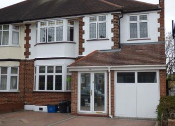 Thumbnail 4 bed semi-detached house for sale in South View Drive, South Woodford, London
