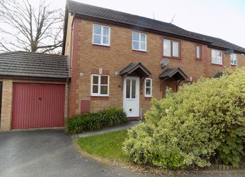 Thumbnail 2 bedroom end terrace house for sale in Blaen Y Cwm, Broadlands, Bridgend.