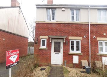 Thumbnail 2 bed end terrace house for sale in The Railway Junction, Ystrad Mynach, Hengoed