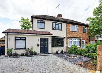 Thumbnail 3 bed semi-detached house to rent in Frith Lane, Mill Hill, London