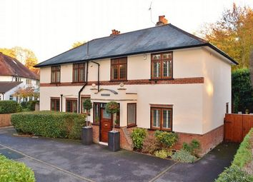Thumbnail 5 bed detached house for sale in Park Road, Camberley, Surrey