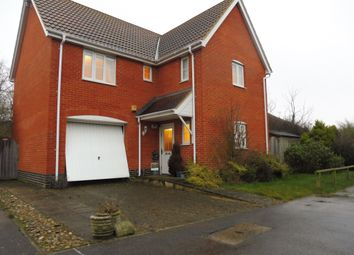 Thumbnail 4 bedroom detached house for sale in Killick Crescent, Carlton Colville, Lowestoft