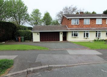 Thumbnail 4 bed semi-detached house for sale in Delamere Road, Willenhall