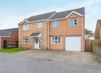 Thumbnail 4 bed detached house for sale in Kilderkin Close, Friday Bridge, Wisbech