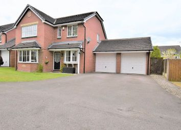 Thumbnail 4 bed detached house for sale in Woburn Drive, Mossley, Congleton