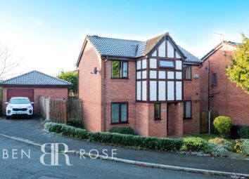 Thumbnail 3 bed detached house for sale in Fir Tree Close, Chorley