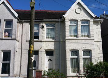 Thumbnail 3 bedroom semi-detached house for sale in Brighton Road, Gorseinon, Swansea
