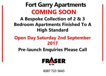 Thumbnail 3 bed flat for sale in Fort Garry, London