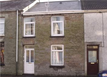 Thumbnail 3 bedroom terraced house to rent in Alfred Street, Maesteg, Mid Glamorgan