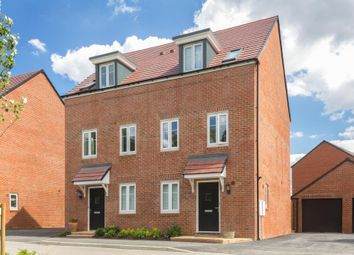 "Thumbnail 5 bed terraced house for sale in ""Middleton"" at Samborne Drive, Wokingham"