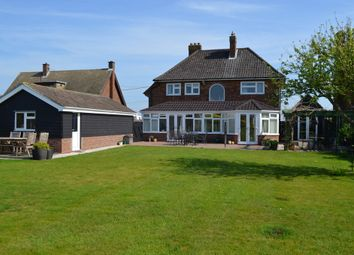 Thumbnail 4 bedroom detached house for sale in Falkenham, Ipswich