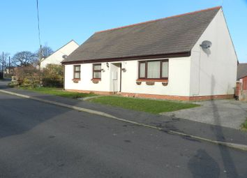 Thumbnail 3 bed detached bungalow for sale in Lamborough Crescent, Clarbeston Road, Pembrokeshire