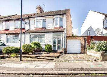 Thumbnail 3 bed end terrace house for sale in Chimes Avenue, London