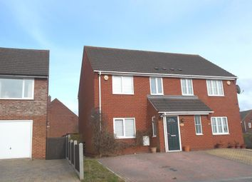 Thumbnail 3 bed semi-detached house for sale in Canberra Road, Shortstown, Bedfordshire