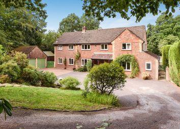 Thumbnail 4 bed detached house for sale in Church Lane, Ewshot, Farnham, Surrey
